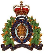 Escudo RCMP. Foto cortesía RCMP